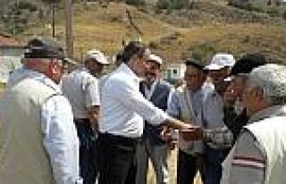 Kaymakam Beyazyıldız Köy Ziyaretlerine Devam Ediyor