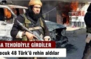 Konsolos dahil 48 kişi IŞİD'in elinde