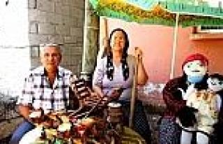 Köy Yaşamını Yansıtan Mini Etnografya Müzesi...