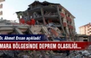 Marmara için şaşırtan açıklama