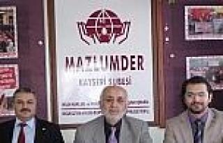Mazlum-der Kayseri Şubesi Başkanı Ahmet Taş