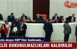 Meclisteki dokunulmazlık teklifi kabul edildi