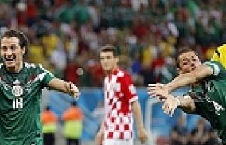 Meksika - Hırvatistan maçının golleri (TIKLA İZLE)