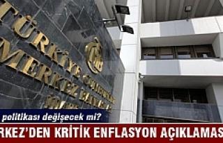 Merkez'den 'enflasyon' açıklaması