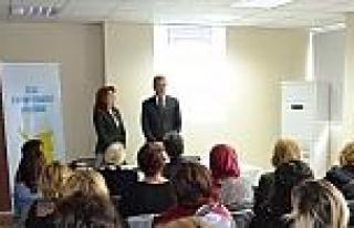 Mezitli'de Kadınlara Yönelik Eğitim Programı