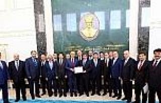 Müsiad Heyetinin Başbakan Ahmet Davutoğlu İle...