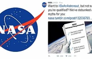 NASA sosyal medyadan Astronot arıyor