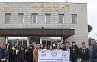Öğrenciler İstanbul'un Tarihi Yerlerini Gezdi