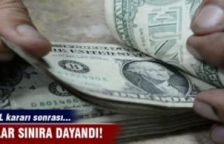 OHAL kararı sonrası... Dolar sınıra dayandı