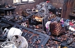 Önce deprem sonra yangın