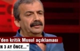 Önder: Musul'da yaşananları Öcalan 3 ay önce...