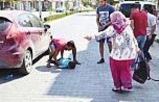 Otomobilin Çarptiği Çocuk Ağır Yaralandı