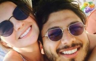 Pelin Karahan-Bedri Güntay çiftinden aşk pozu