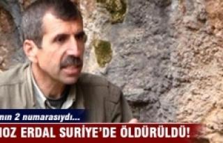 PKK'nın iki numarası Bahoz Erdal öldürüldü