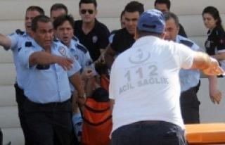 Polis merkezinde intihar şoku!