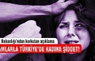 Rakamlarla Türkiye'de kadına şiddet!