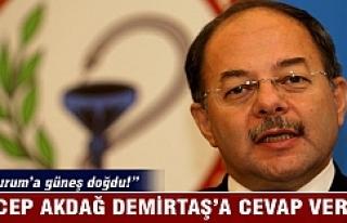 Recep Akdağ'dan Demirtaş'a cevap