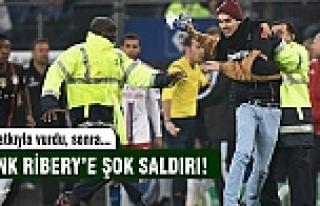 Ribery'e şok saldırı!