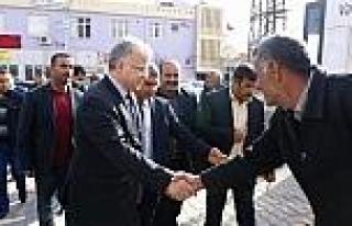 Rize Belediye Başkanı Bozova'yı Ziyaret Etti