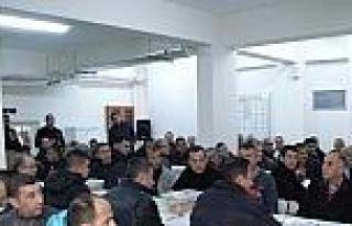 Salihli'de Mahkumlar Yeni Yılı Kutladı