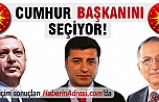 SAMSUN Cumhurbaşkanlığı seçim sonuçları (10...
