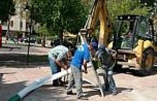 Şehit Mustafa Durmaz Parkına Basketbol Potası Dikildi
