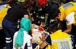 Şerit İhlali Kazaya Yol Açtı: 5 Yaralı