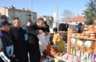 SEYİTGAZİ'DE ZABITANIN PAZAR DENETİMİ
