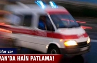 Silvan'da askeri aracın geçişi sırasında patlama