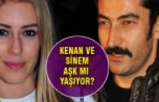 Sinem Kobal ile Kenan İmirzalioğlu aşk yaşıyor...