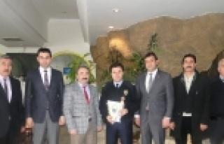 Sungurlu Emniyet Müdürü Orhan Durmaz'ın Tayini...