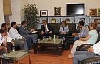 Suriye Kantonlarından Tso'ya Ziyaret