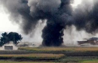 Suriye sınırında korkutan patlama