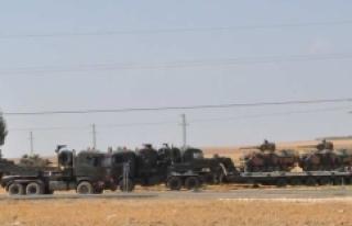 Tanklar sınıra yerleştirildi
