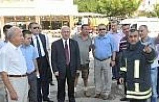Tekirdağ Büyükşehir Belediye Başkanı Kadir Albayrak...
