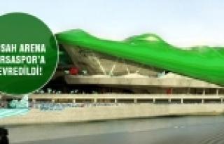 Timsah Arena Bursaspor'a devredildi!