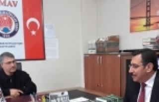 TÜFENKCİ'DEN TİMAV'A ZİYARET