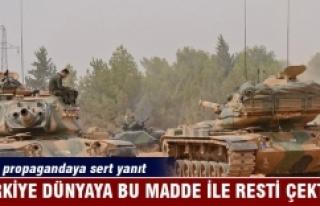 Türkiye'den dünyaya 'Madde 51' resti