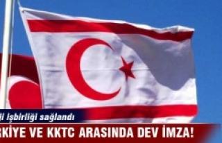 Türkiye ve KKTC arasında dev imza!