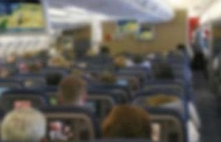 Uçakta taciz iddiasına tutuklama