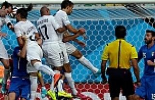 Uruguay - İtalya maçın golleri (TIKLA İZLE)
