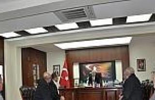 Vali Büyükersoy'a Teşekkür Ziyareti