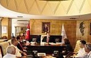 Vali Taşkesen Tüsiad Heyetini Makamında Kabul Etti
