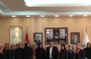 Yeni Yönetimden Başkan İnci'ye Ziyaret