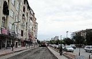 Yozgat'ta Cadde Ve Sokak Düzenlemeleri Sürüyor