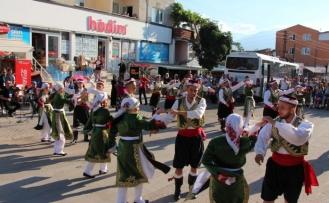 İnegöl'de festival coşkusu