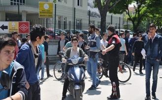 Bursa'da polisten sıkı denetim!