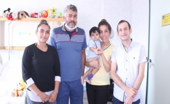 Siroz hastası minik Ahmet Eren'e yardım eli