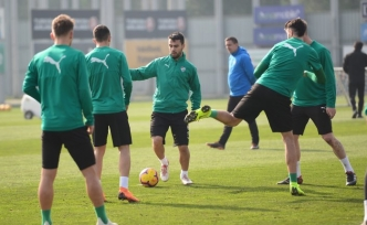 Bursaspor, Beşiktaş maçına hazırlanıyor