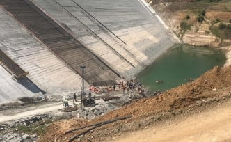 Bursa'da barajda feci ölüm